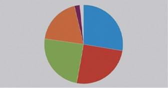 グラフ表示(得票分析)